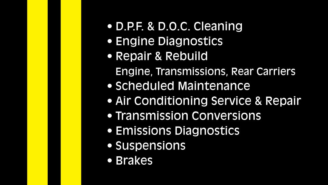 project description - Auto Repair Business Cards