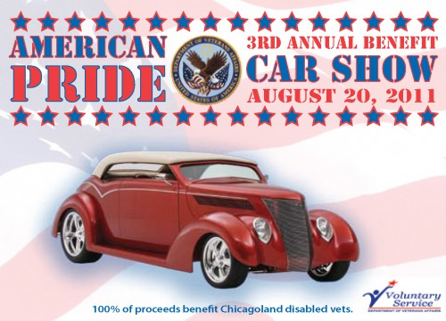 this is an example of American Pride's car tag design