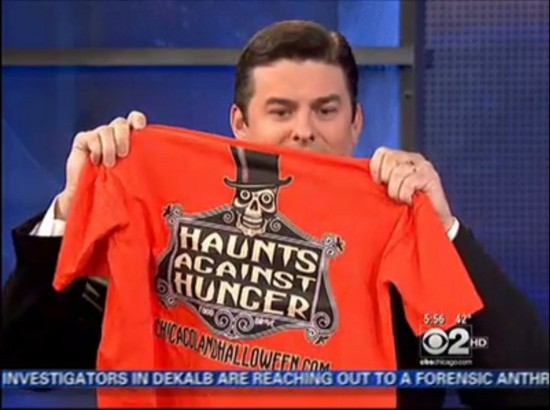 Haunts For Hunger's glow in the dark t-shirt