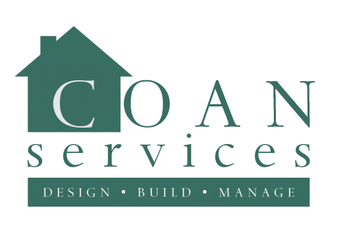 this is an example of Coan Service's home remodeler logo design
