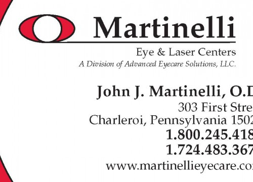 this is an example of John Martinelli's custom business card