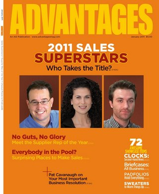 Advantages promotional products magazine