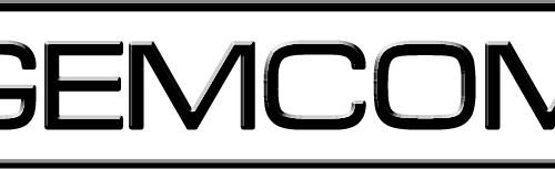 Gemcom's small business logo design