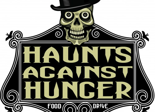 this is an example of Haunts For Hunger's logo design