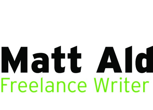 this is an example of Matt Alderton's professional logo design
