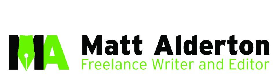 this is an example of Matt Alderton's professional logo design
