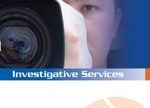 this is an example of Factual Photo's full color brochures - Cover