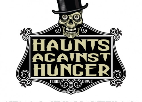 this is an example of Haunts Against Hunger'scustom temporary tattoos
