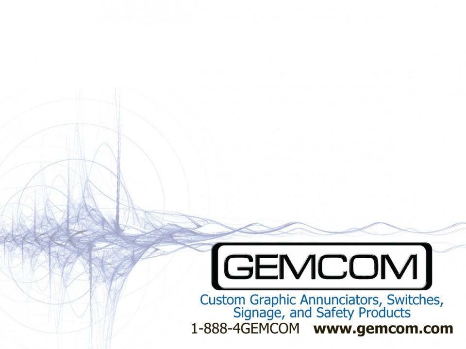 Gemcom, Inc.'s custom post it note printing