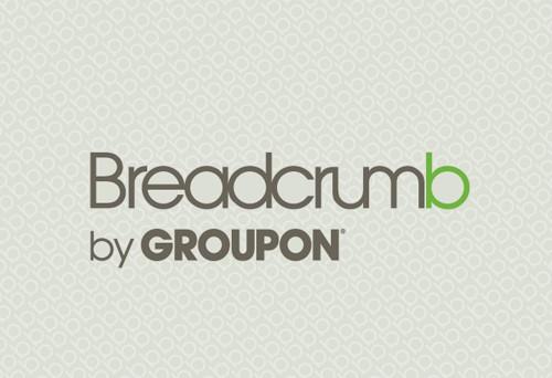Groupon's breadcrumb custom table skirt