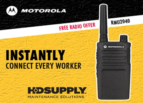this is an example of Motorola's B2B web banner advertising