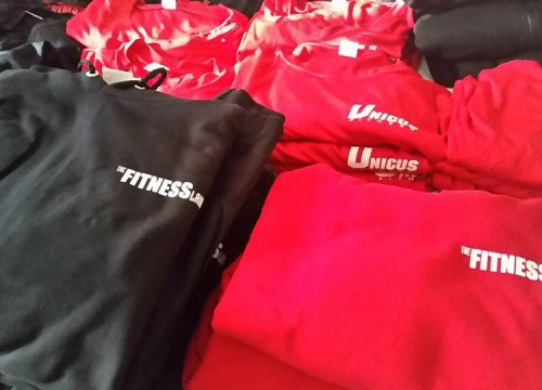 Unicus Fitness' custom apparel