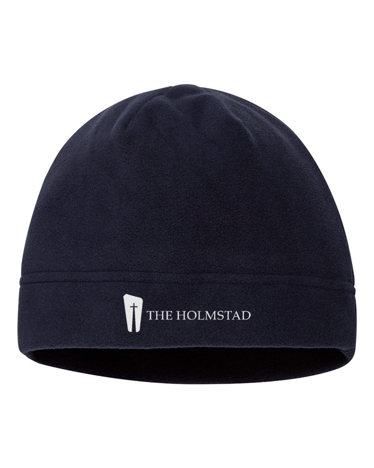 Holmstad Retirement Community's embroidered beanie
