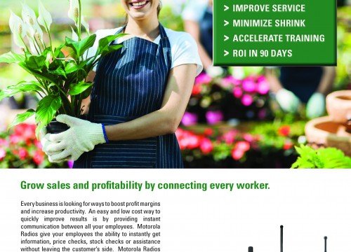 Prince Lawn and Garden's ad design