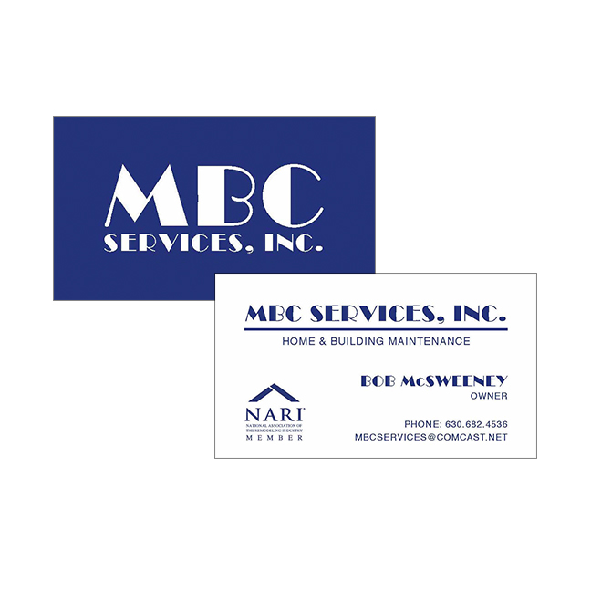 Mbc services inc thermography business cards this is an example of mbc services thermography business cards reheart Choice Image