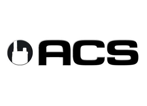 Black circle with white shape of two way radio for effective logo design