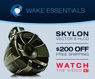 Speaker and information about Wake essentials remarketing ad campaign